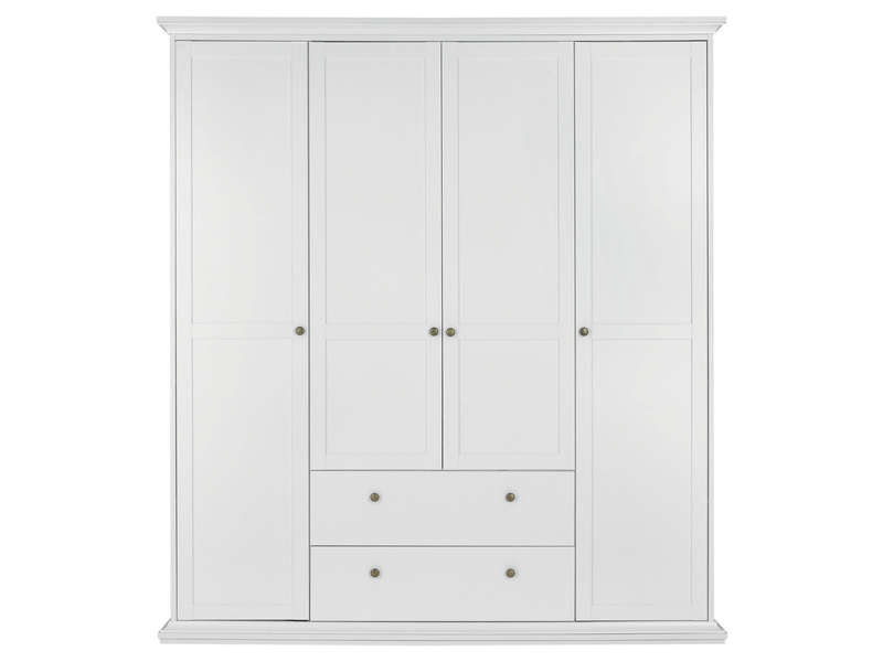 armoire blanche