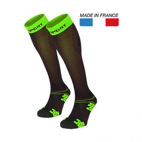 chaussettes de compression
