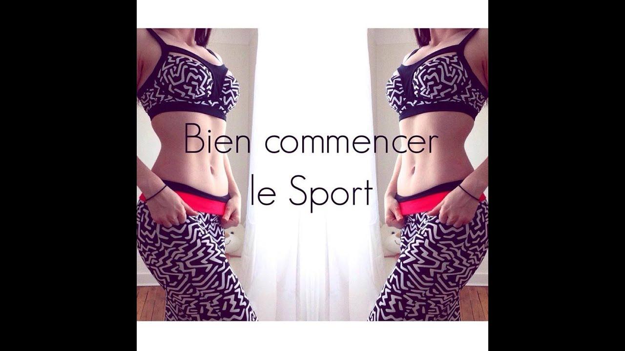 commencer le sport