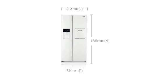 dimension frigo americain