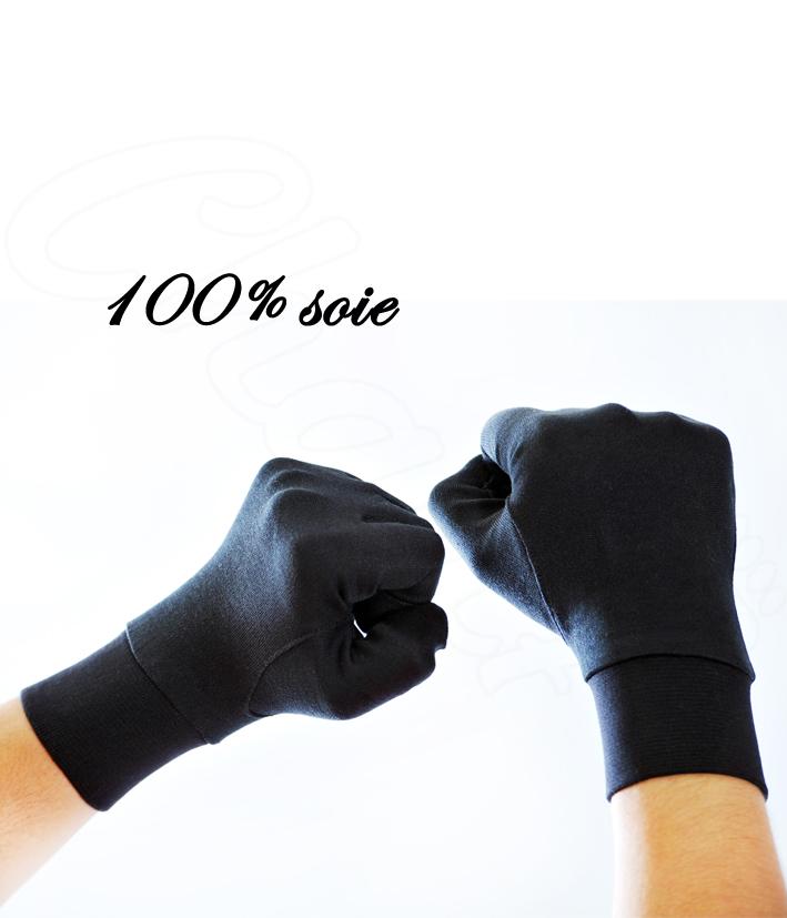 gant de soie