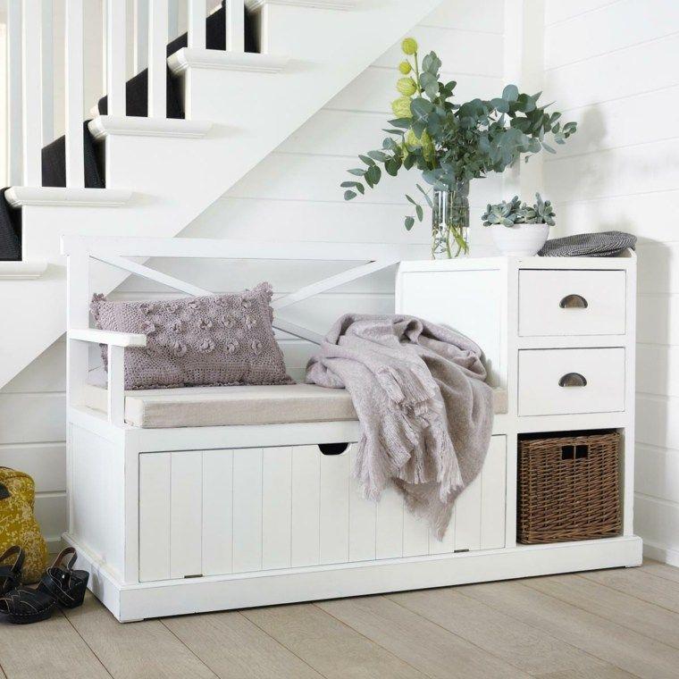 meuble d entrée avec banc