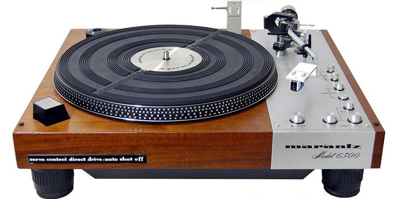 platine vinyle vintage