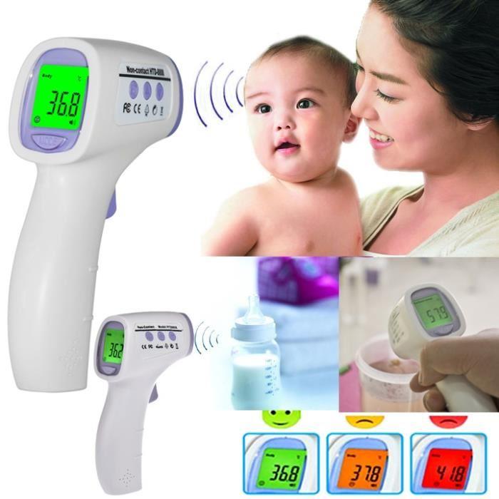 thermomètre bébé infrarouge