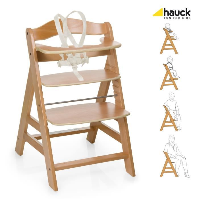 chaise bébé bois évolutive