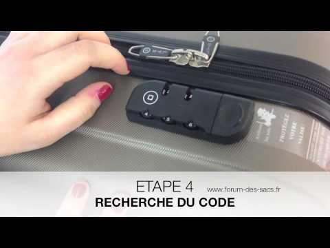 code valise delsey