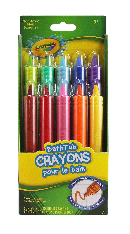 crayon de bain