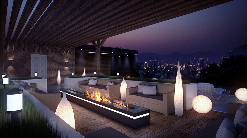 eclairage terrasse