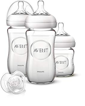 kit biberon avent natural verre
