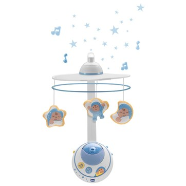 mobile musical lumineux