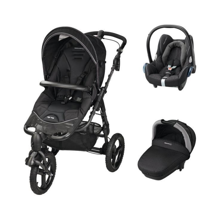poussette trio high trek bébé confort