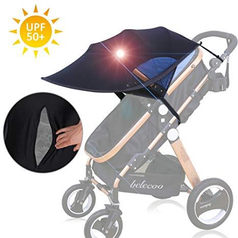 protection soleil poussette