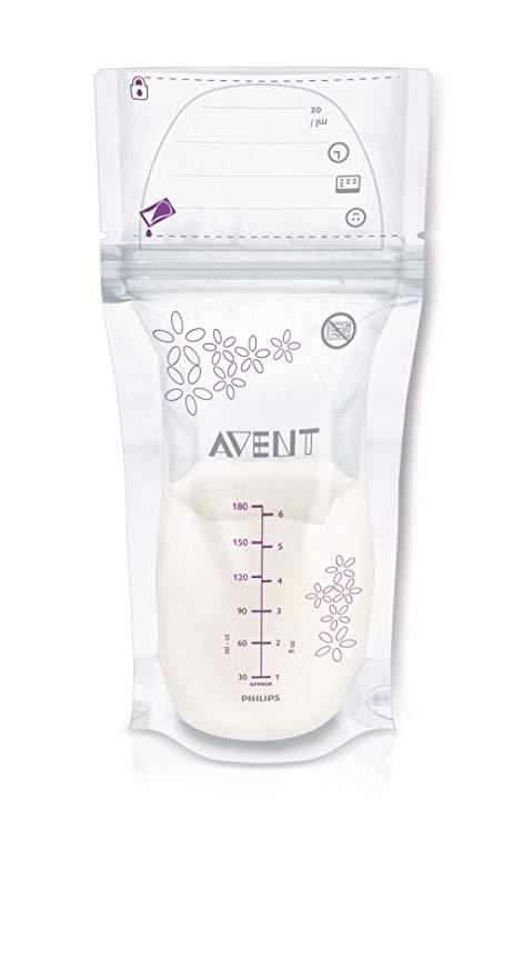 sac conservation lait maternel