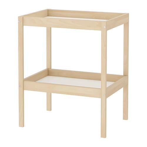 table a langer en bois