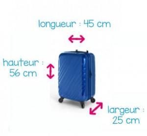 taille de valise cabine