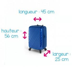 valise cabine dimension