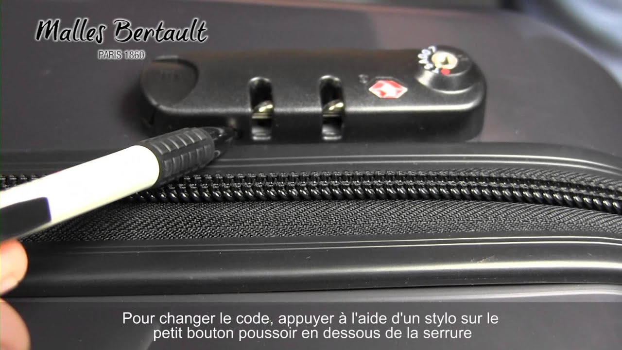 valise delsey code