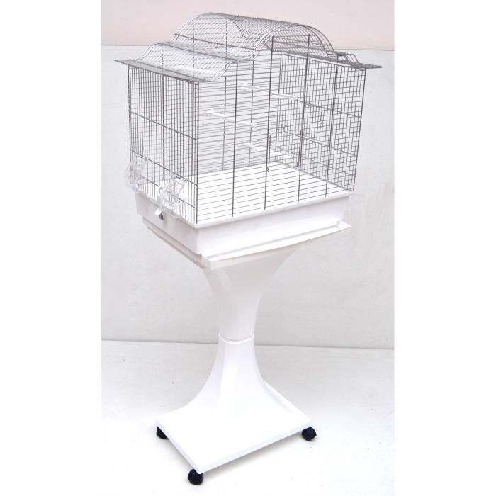 cage sur pied pour canari