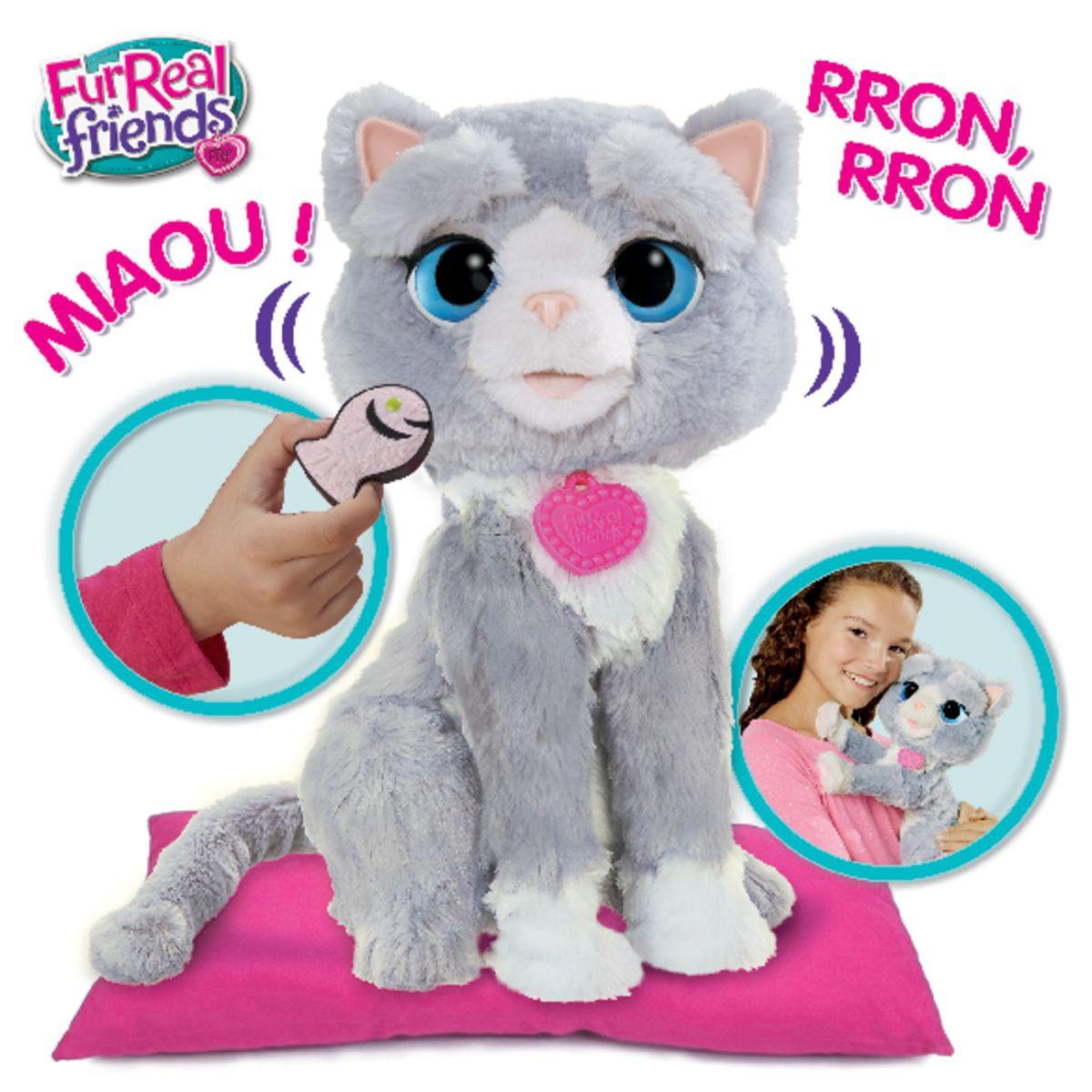 chat jouet interactif