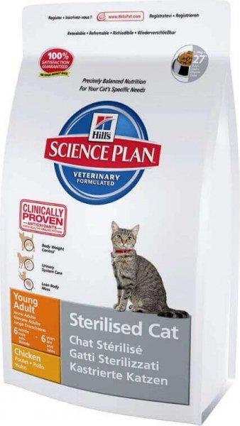 hills chat stérilisé