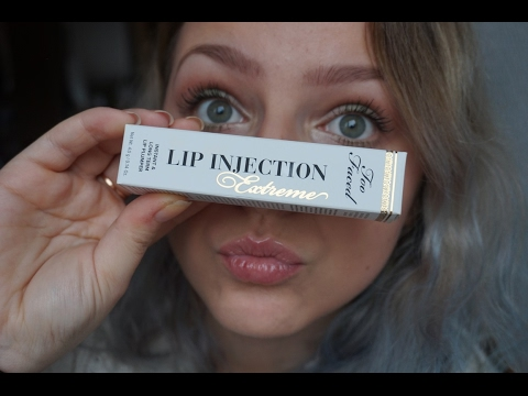 lip injection too faced avant apres