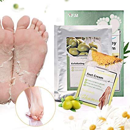 masque pieds peeling