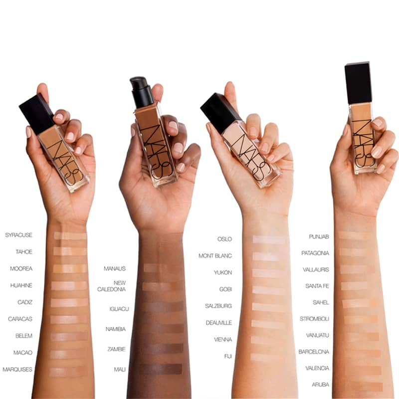nars natural radiant longwear foundation
